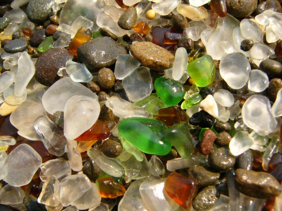 Glass Beach Fort Bragg 3 Glass Beach: Una playa de... ¿vidrio?