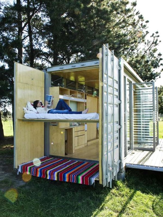 PORT A BACH Container Home