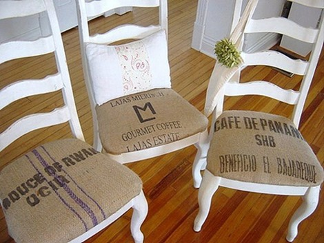Reutilizar telas para tapizar una decoraci n nueva y - Como tapizar sillas antiguas ...