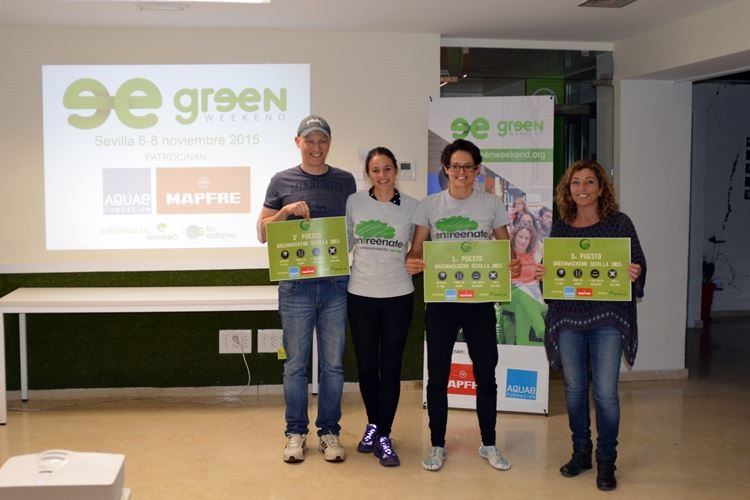 Ganadores Greenweekend Sevilla