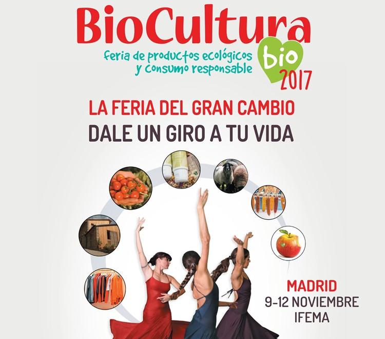 BioCultura Madrid 2017: Ganadores de entradas gratis