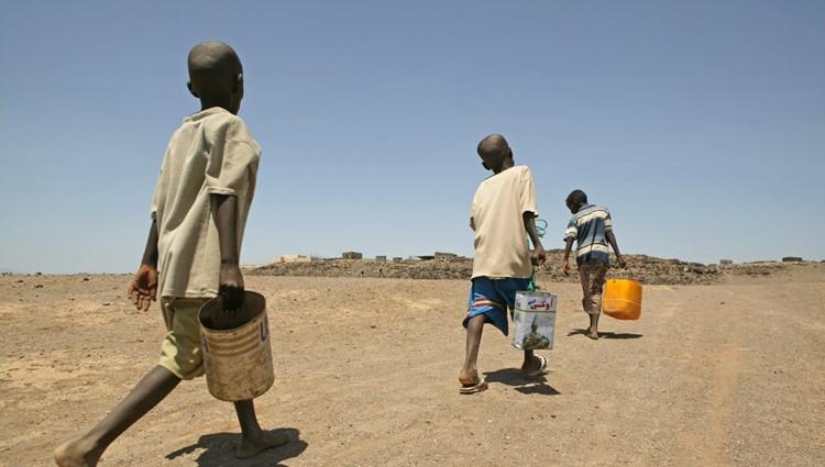 Sequía y escasez de agua