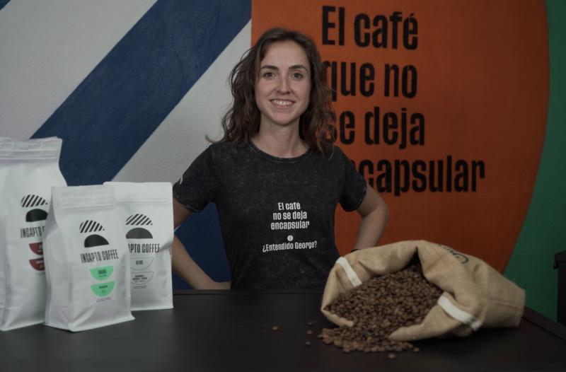 Beatriz Mesa de Incapto Coffee